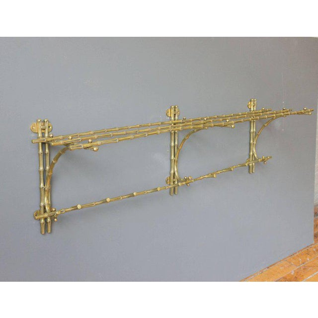 French Bronze Coat Rack by Maison Bagués. - Image 3 of 7