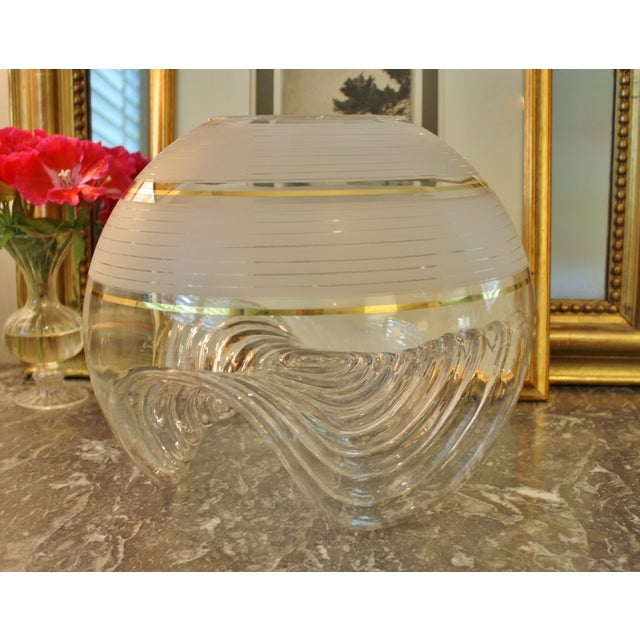 Murano Vase by Mazzega For Sale - Image 5 of 5