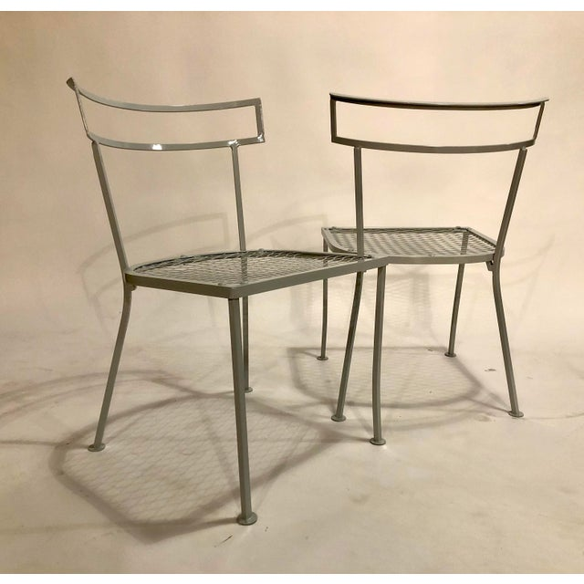 1960s Klismo Patio Dining Chairs - Set of 4 For Sale - Image 5 of 9