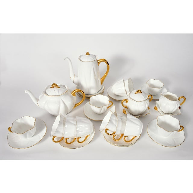 Ceramic Vintage English Porcelain Tea / Coffee Service Service for 12 People - 36 Pc. Set For Sale - Image 7 of 13