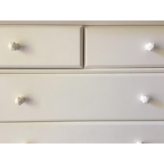 Pottery Barn Kids Contemporary White 'Madeline' Dresser For Sale - Image 5 of 6