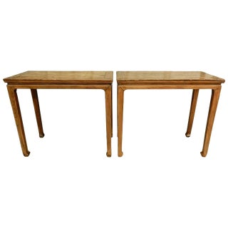 19th Century Chinese Console Tables - a Pair For Sale