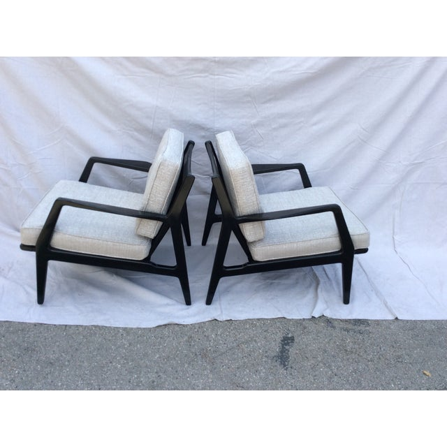 1950s Mid Century Side Chairs - a Pair For Sale - Image 5 of 10