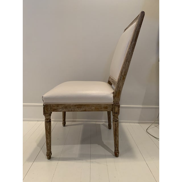 French Country Nancy Corzine French Side Chair For Sale - Image 3 of 5