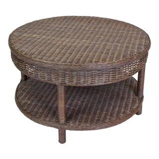 Sausalito Coffee Table, Dark Walnut For Sale