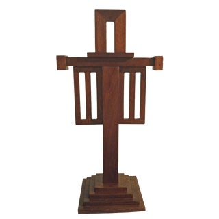 1910s Arts & Crafts/Mission Cross For Sale