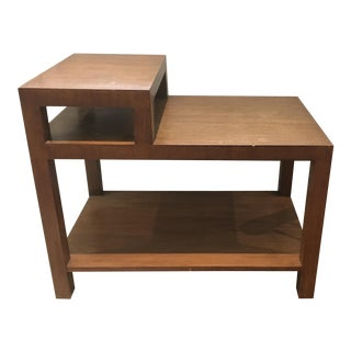 Mid-Century Modern T H Robsjohn-Gibbings 2-Tiered Side Table