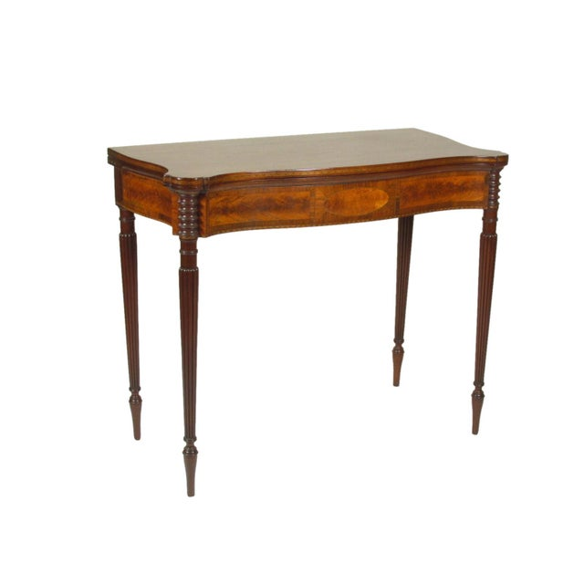 Late 19th Century Federal-Style Card Tables - a Pair For Sale In Boston - Image 6 of 13