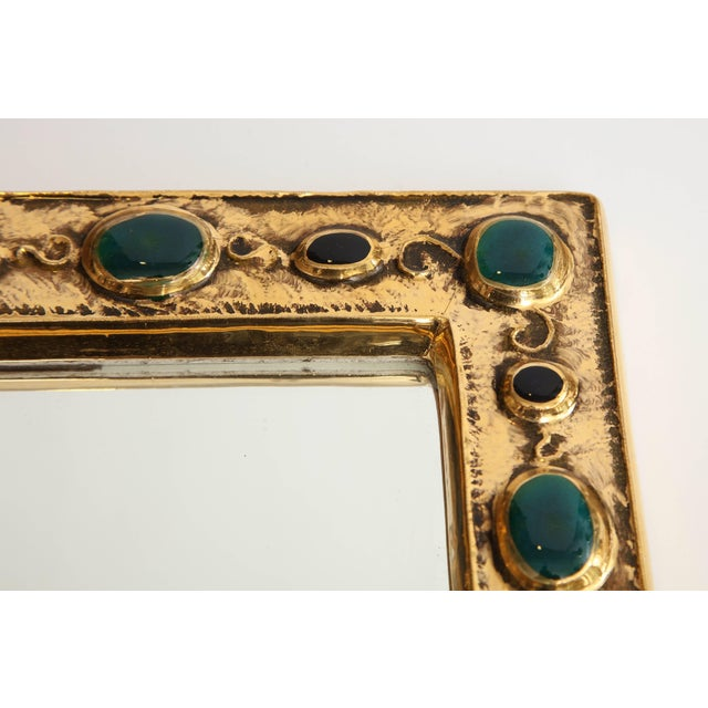 Mid 20th Century Mirror by Francois Lembo For Sale - Image 5 of 8