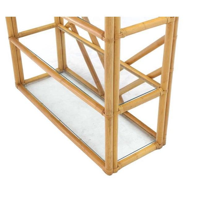 Early 20th Century Large Rattan Shelf For Sale - Image 5 of 8