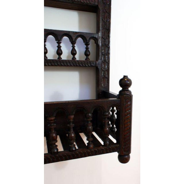 19th Century French Fruitwood Hanging Shelf For Sale - Image 4 of 5
