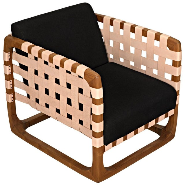2010s Teak Nebula Chair, Natural For Sale - Image 5 of 9