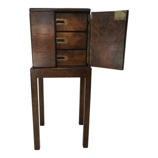 Late 1800s Biedermeier Campaign Chest For Sale