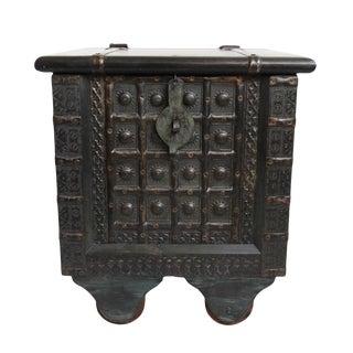 Jodphur Side Table / Trunk For Sale