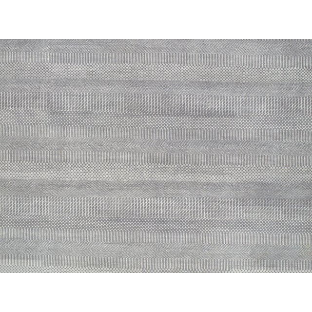 "Pasargad Transitional Silk & Wool Rug - 9'11"" X 14'2"" - Image 3 of 3"