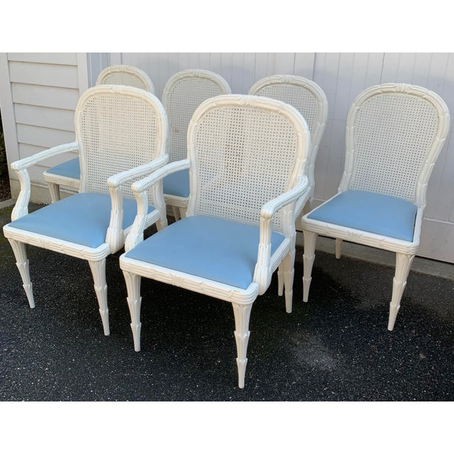 Serge Roche Style Dining Chairs - Set of 6 For Sale - Image 13 of 13