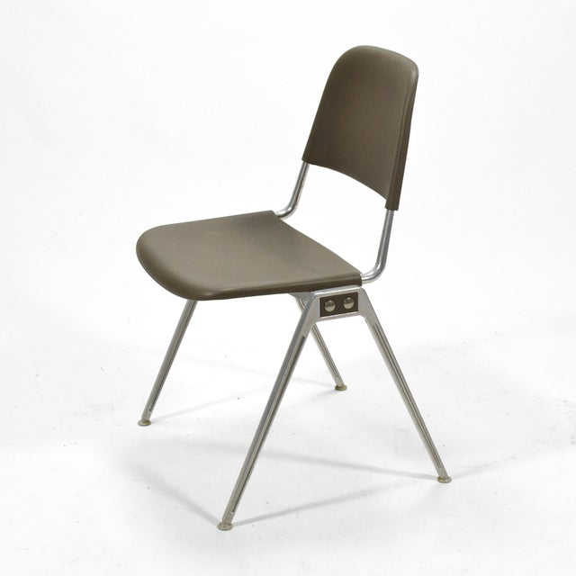 1960s Don Albinson Stacking Side Chairs by Knoll Set of 14 For Sale - Image 5 of 11