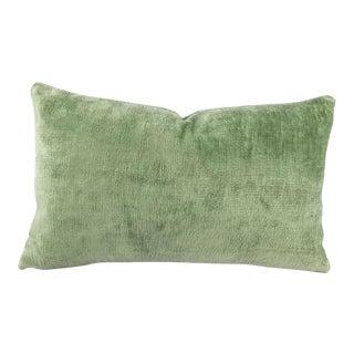 F. Schumacher Linen Velvet Lumbar Pillow Cover For Sale