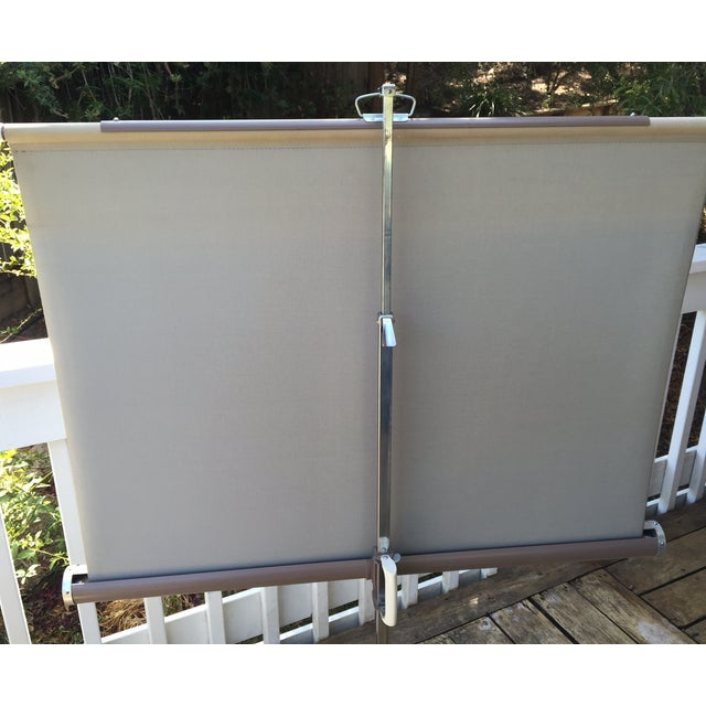 Mid Century Wards Portable Projection Screen - Image 10 of 11