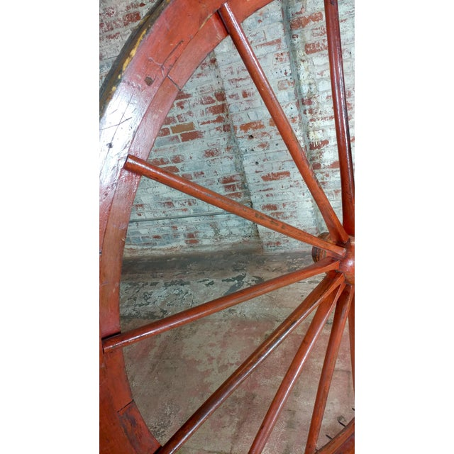 19th century Large Saloon Gaming spinning wheel of fortune For Sale - Image 10 of 12