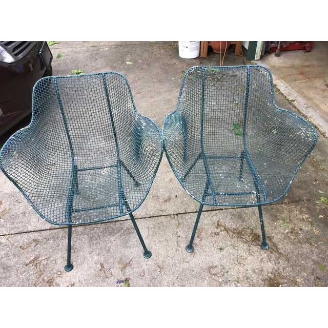 Sculptura Chair Table Russell Woodard Patio Set - 3 Pieces Last Call For Sale - Image 9 of 10