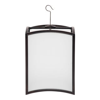 Chinese Arched Square Lantern For Sale