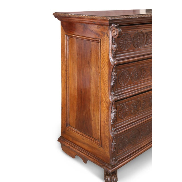 17th Century 17th Century Chest-Of-Drawers For Sale - Image 5 of 12