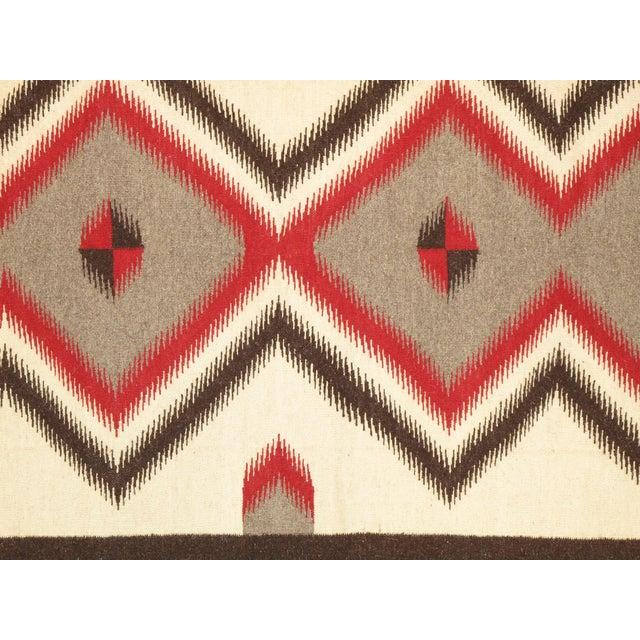 "Navajo Decorative Hand-Woven Rug - 4'10"" X 6'11"" - Image 2 of 3"