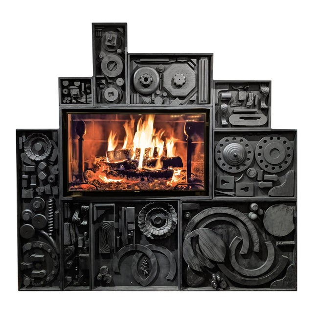 Gt Atelier Custom Tv Art Wall by the Golden Triangle Chicago For Sale