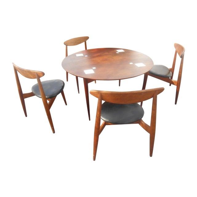 Hans Wegner Dining Set / Game Table - Image 1 of 10