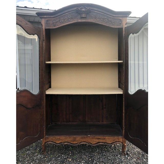 19th Century French Armoire / Display Cabinet For Sale - Image 10 of 12