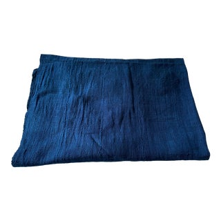 Plain Indigo Cloth - Mossi Tribe Burkina Faso For Sale