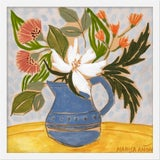 """Image of Small """"April Florals 1"""" Print by Marisa Anon, 20"""" X 20"""" For Sale"""