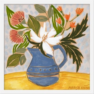"""Small """"April Florals 1"""" Print by Marisa Anon, 20"""" X 20"""" For Sale"""