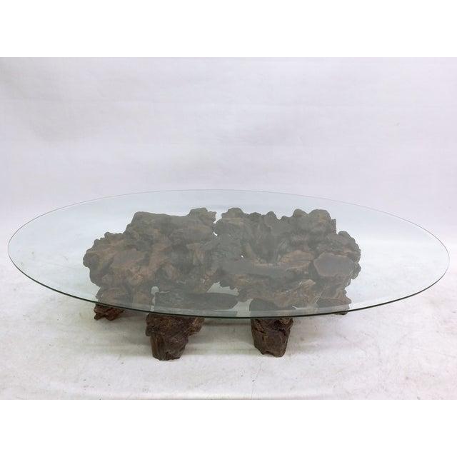 Californian Burl Wood Coffee Table - Image 2 of 6
