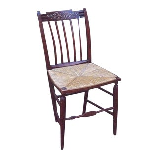 Federal Fancy Chair Made In 1815 For Sale