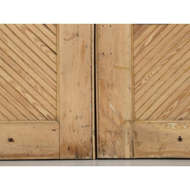 1890s Antique American Barn or Garage Doors For Sale - Image 10 of 13
