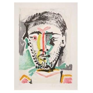 Pablo Picasso - Portrait D'Homme Lithograph