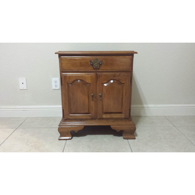 Ethan Allen Traditional Style Nightstand - Image 2 of 9