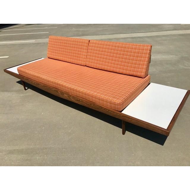Mid-Century Formica Platform Sofa For Sale - Image 4 of 11