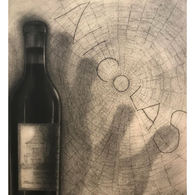 Original French Art Deco Paul Iribe Nicolas Print, Bottle + Spiderweb For Sale - Image 4 of 5