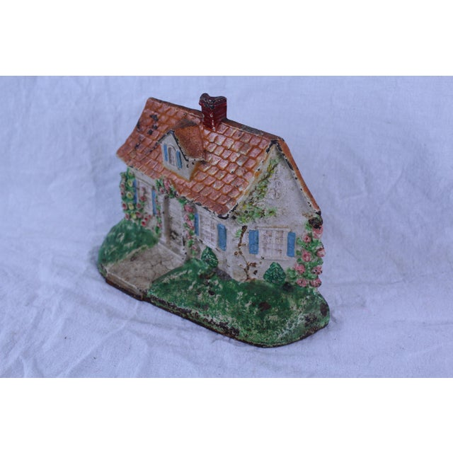 1950s Vintage Shabby Chic Doorstop For Sale - Image 4 of 6