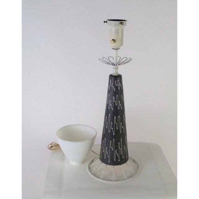 Lightolier Gerald Thurston Mid-Century Modern Table Lamp for Lightolier, 1950s For Sale - Image 4 of 10