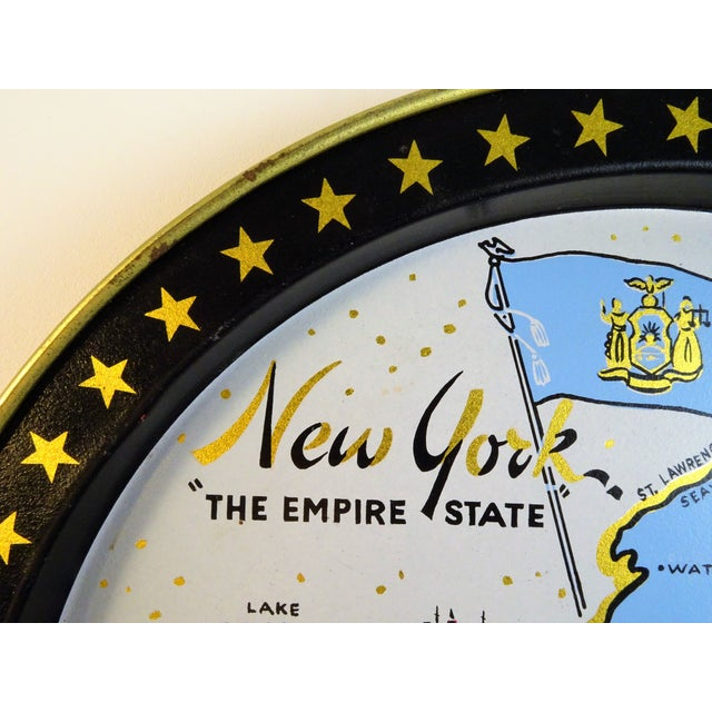 Vintage New York Souvenir Tray For Sale - Image 4 of 11