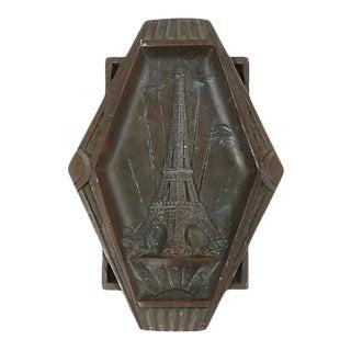 Mid-Century Eiffel Tower Souvenir Ashtray For Sale