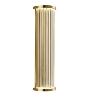 Criterion Polished Brass Wall Light For Sale