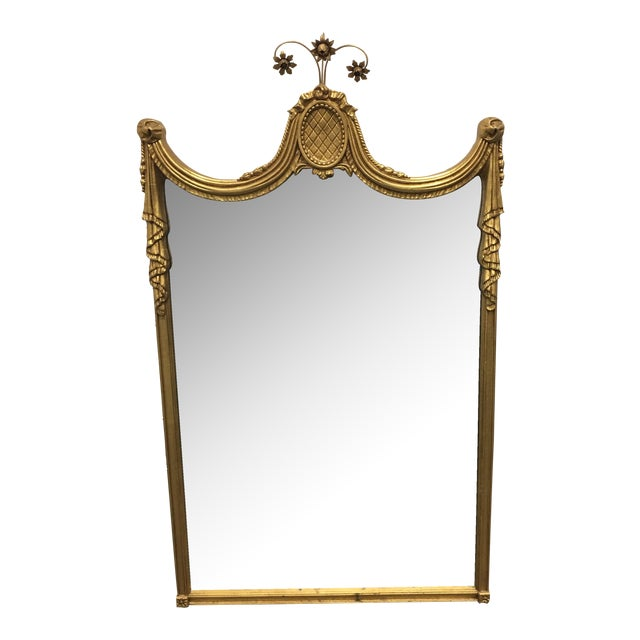 Gilded Empire Style Wall Mirror - Image 1 of 6