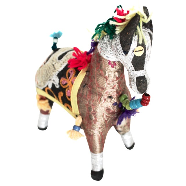 Bohemian Patchwork Horse - Image 1 of 4