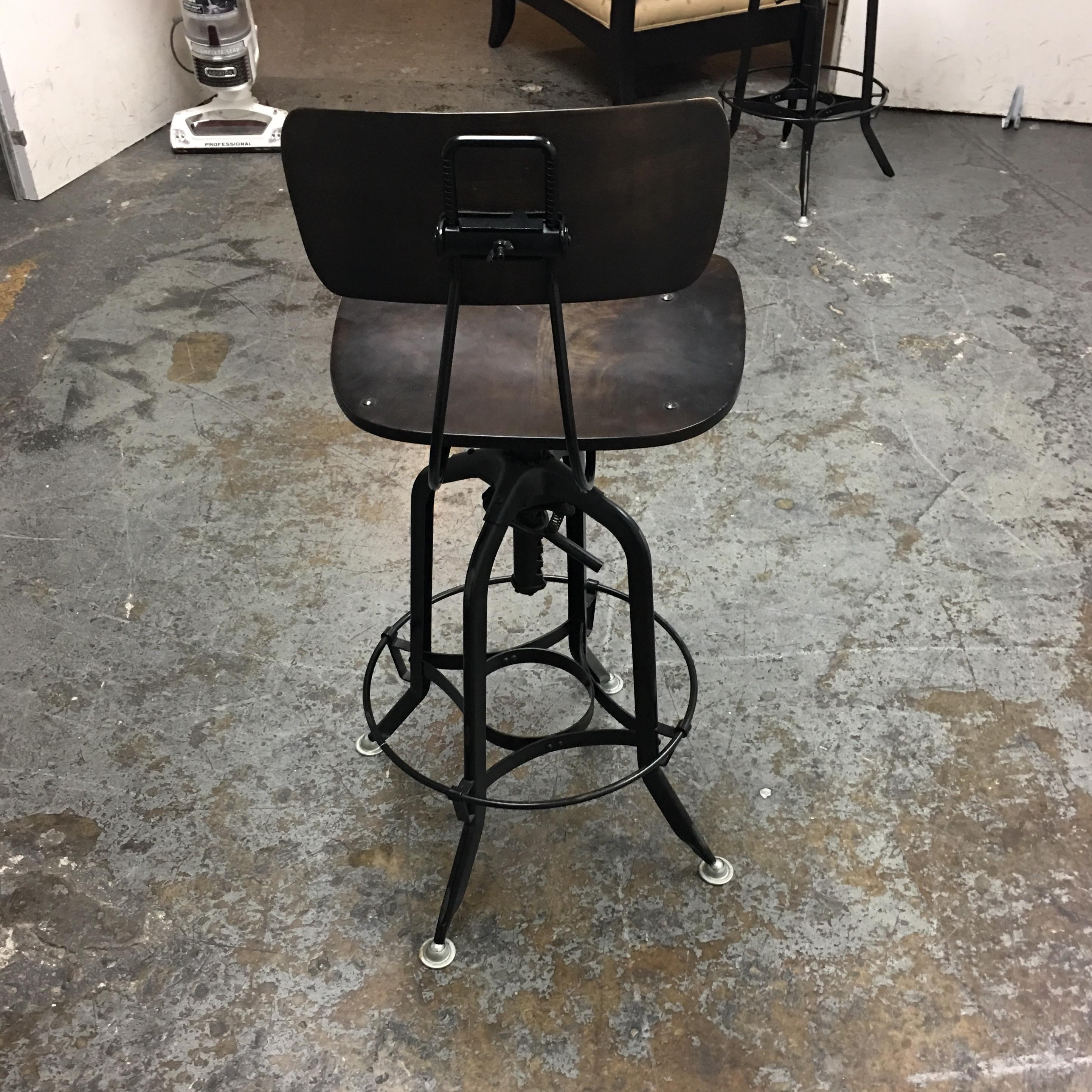 Restoration Hardware Vintage Toledo Bar Chair   Image 5 Of 8