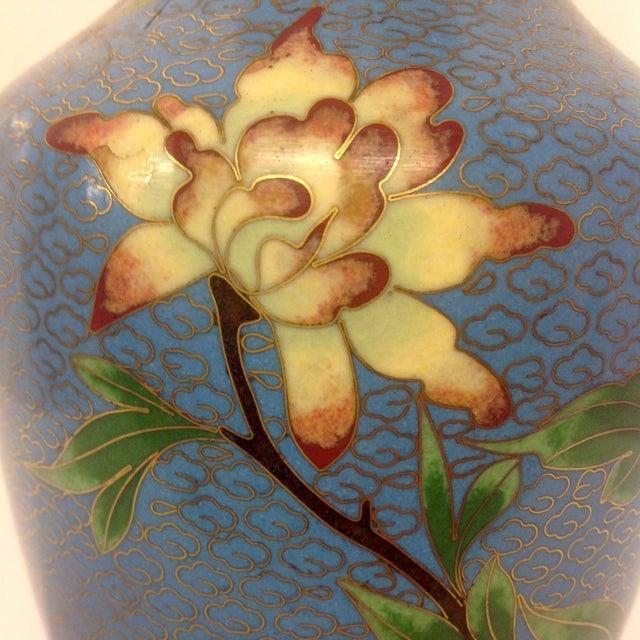 Meiji Japanese Cloisonné Vase - Image 6 of 9